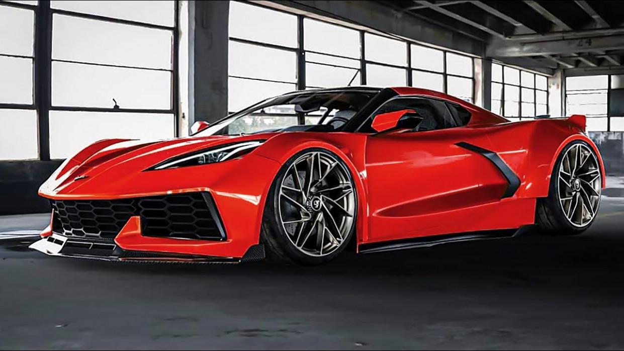 Exterior And Interior 2022 Chevrolet Corvette Mid Engine C8