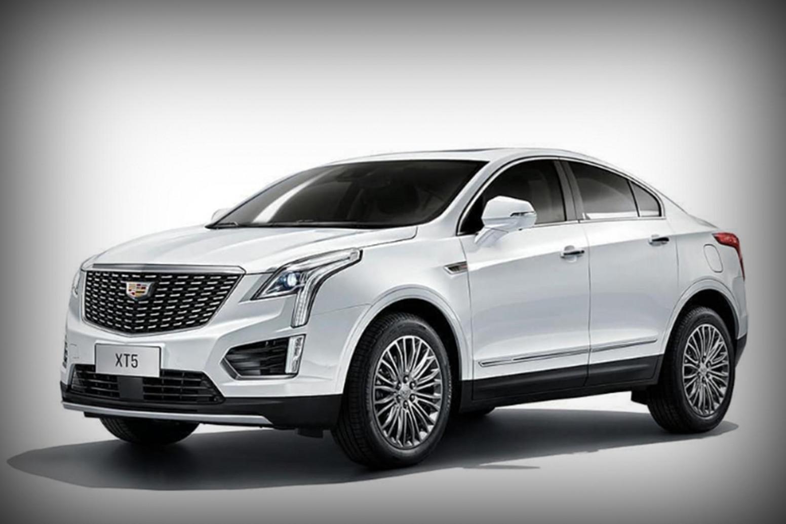 New Concept 2022 Spy Shots Cadillac Xt5