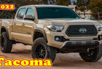 exterior and interior 2022 toyota tacoma