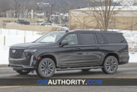 exterior and interior pictures of the 2022 cadillac escalade
