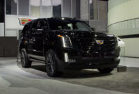 first drive pictures of the 2022 cadillac escalade