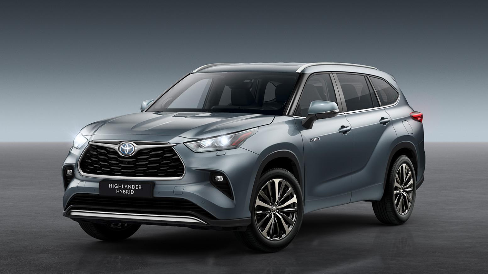 Interior Toyota Outlander 2022