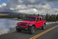 history 2022 jeep gladiator overall length