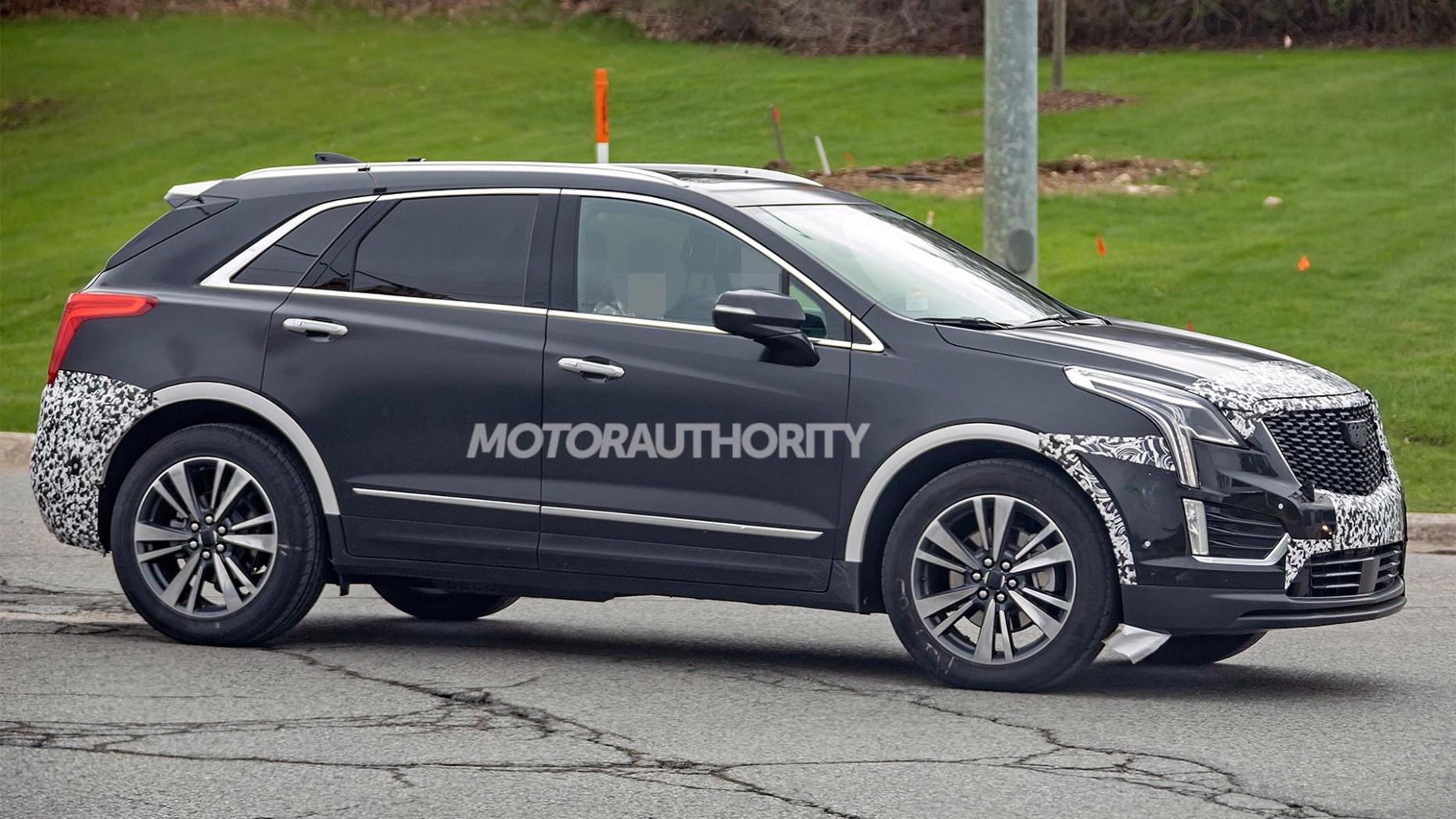 Overview 2022 Spy Shots Cadillac Xt5