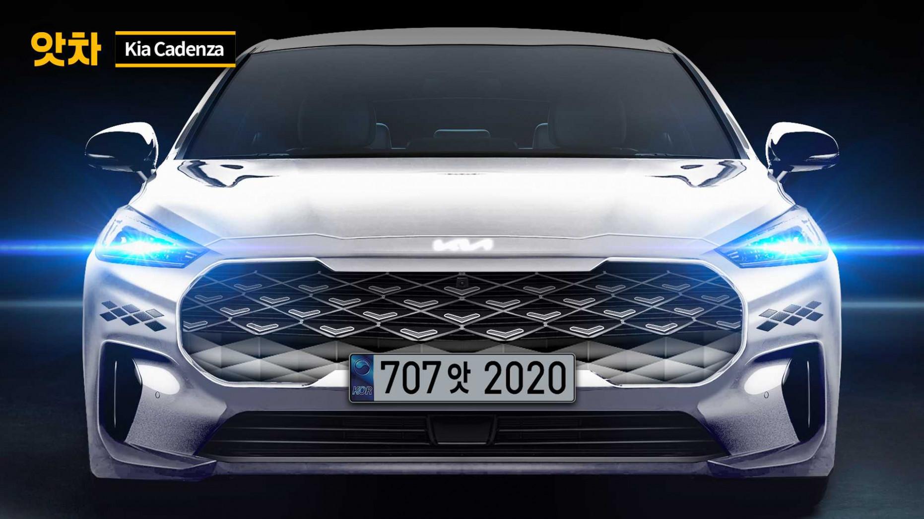 Images Kia Cadenza 2022