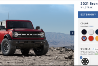 images build your own 2022 ford bronco