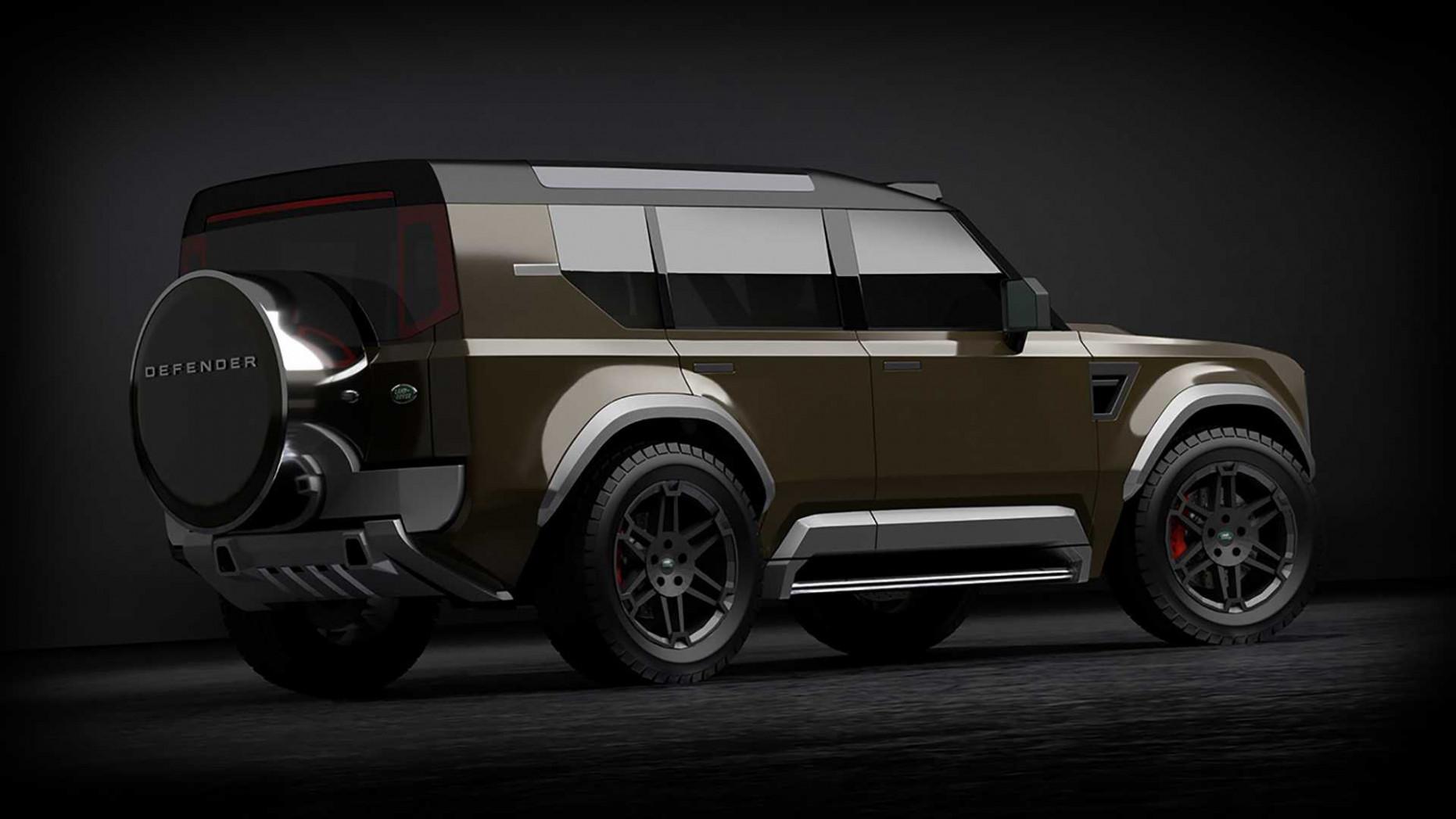 Photos 2022 Land Rover Defender