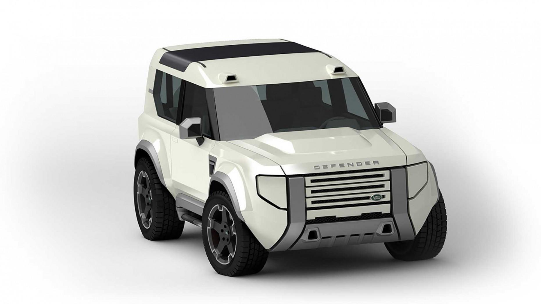 Wallpaper 2022 Land Rover Defender