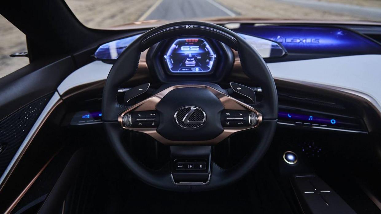 Interior 2022 Lexus Lss