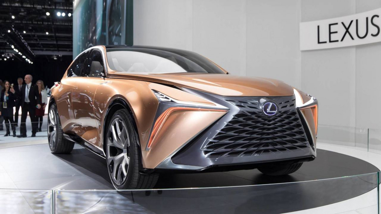 Redesign and Review 2022 Lexus LSs