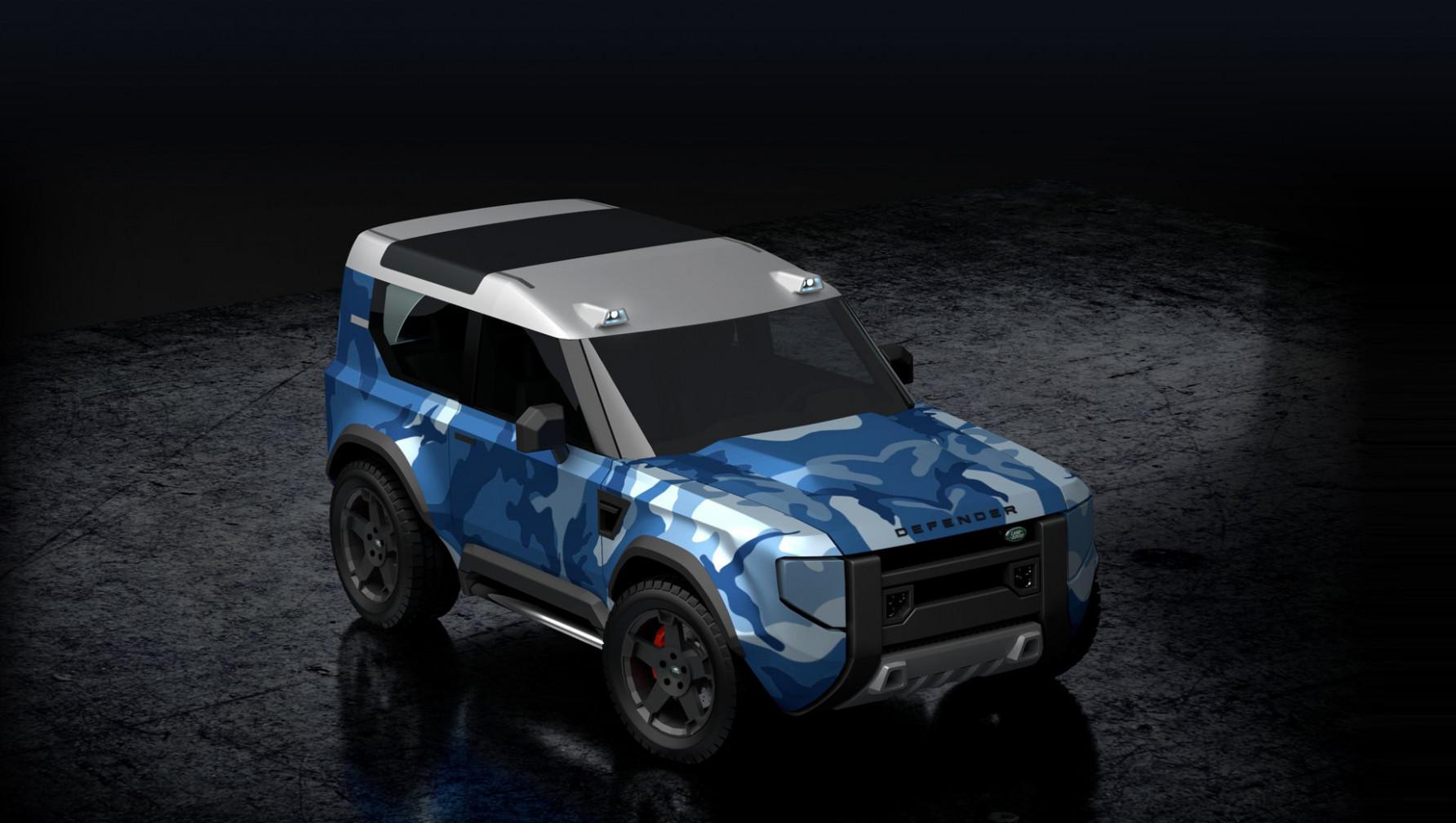 Spesification 2022 Land Rover Defender