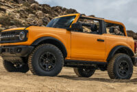new model and performance build your own 2022 ford bronco