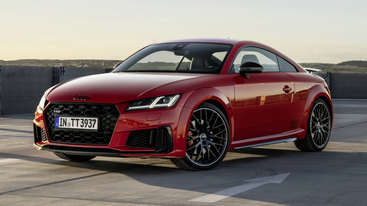 Picture 2022 Audi TTS