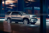 new review when will the 2022 chevrolet suburban be released