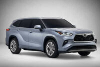 Overview Will The 2022 Toyota Highlander Be Redesigned