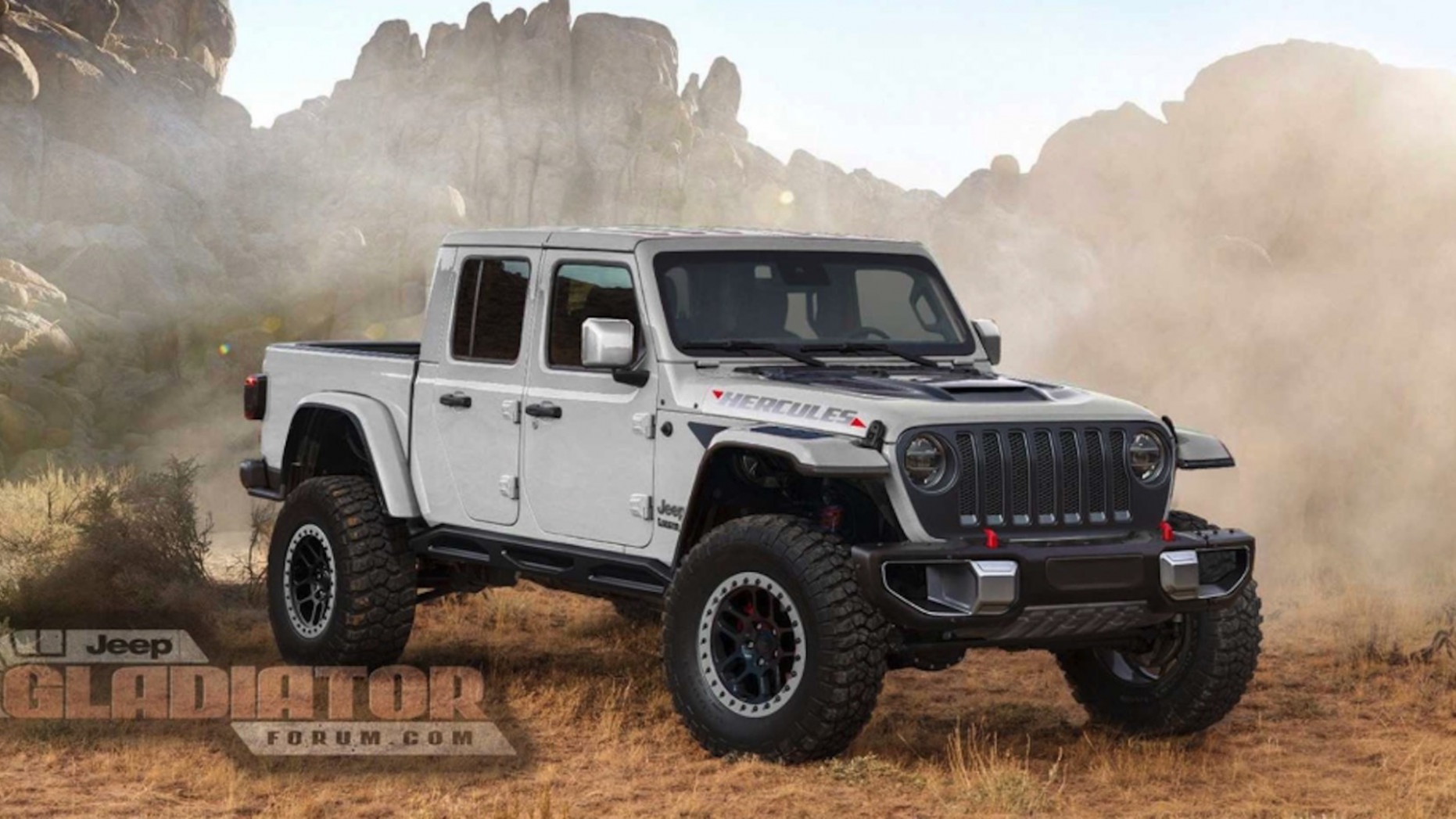 Speed Test 2022 Jeep Gladiator Overall Length