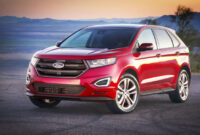 performance and new engine ford edge new design