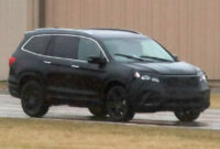 picture 2022 honda pilot spy photos
