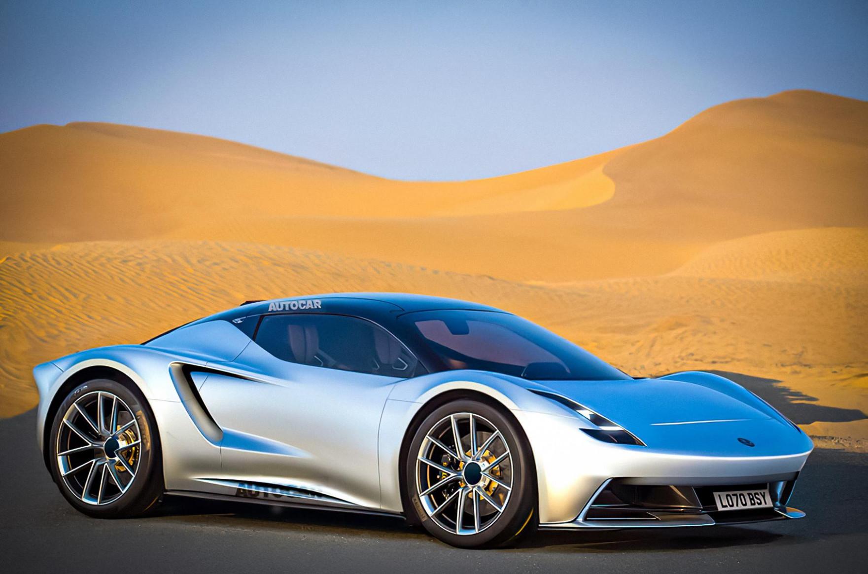 Redesign 2022 Lotus Esprit