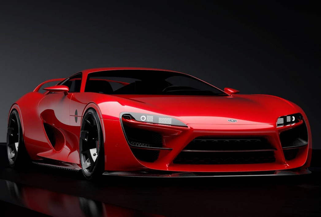 Redesign and Review Pictures Of The 2022 Toyota Supra