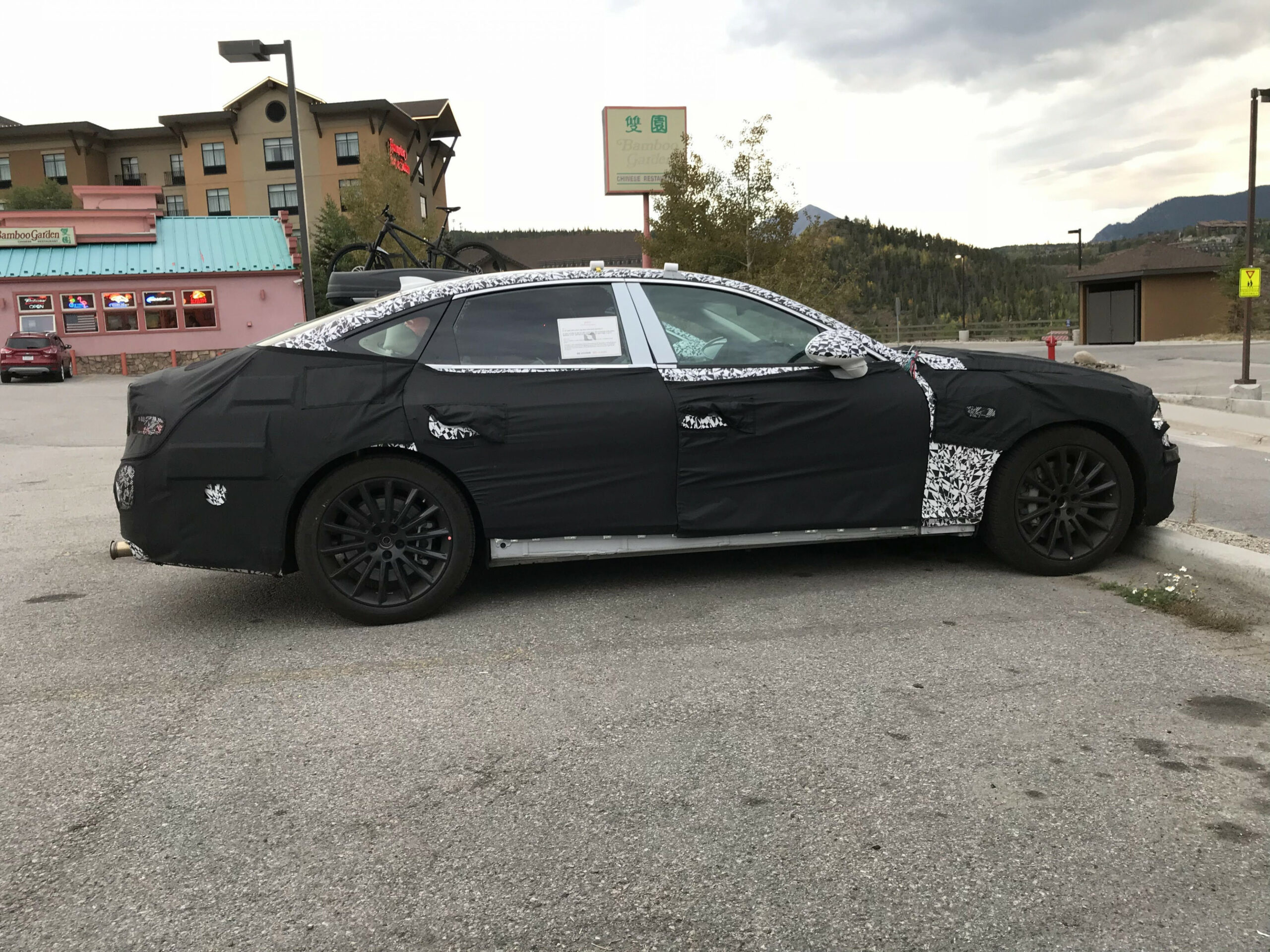 Price and Review Spy Shots Lincoln Mkz Sedan