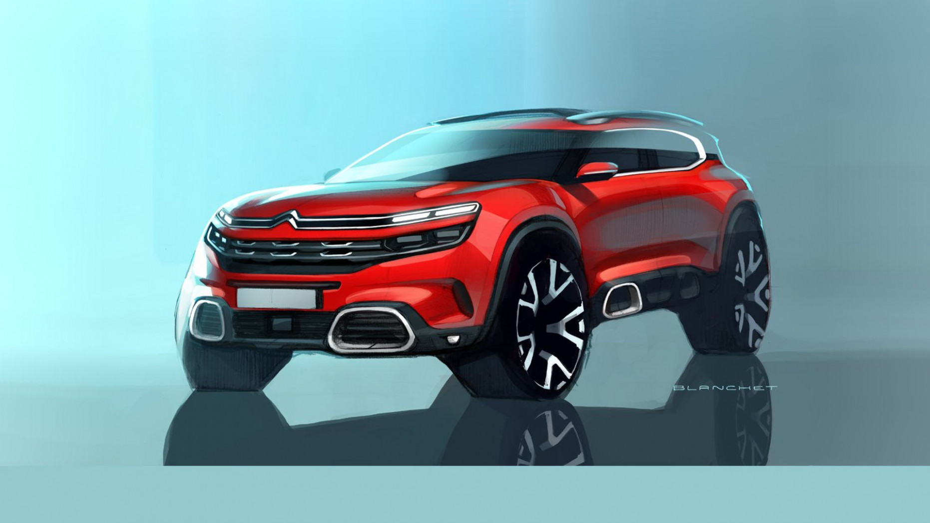 Redesign and Concept 2022 Citroen C5