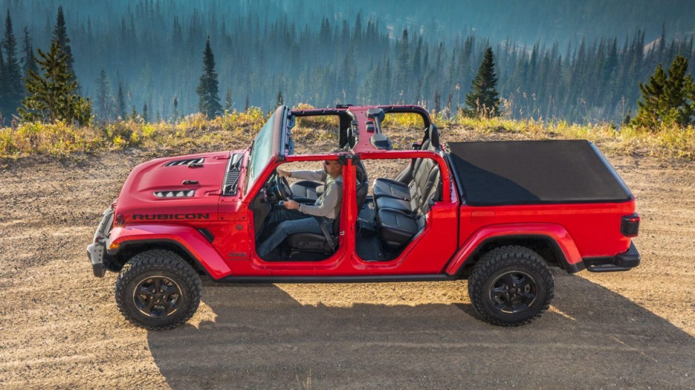 Redesign and Concept 2022 Jeep Gladiator Overall Length