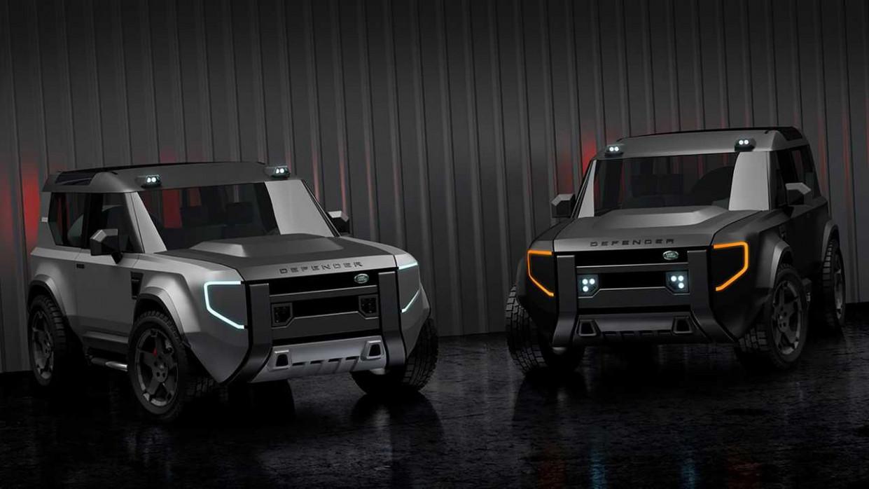 Release 2022 Land Rover Defender