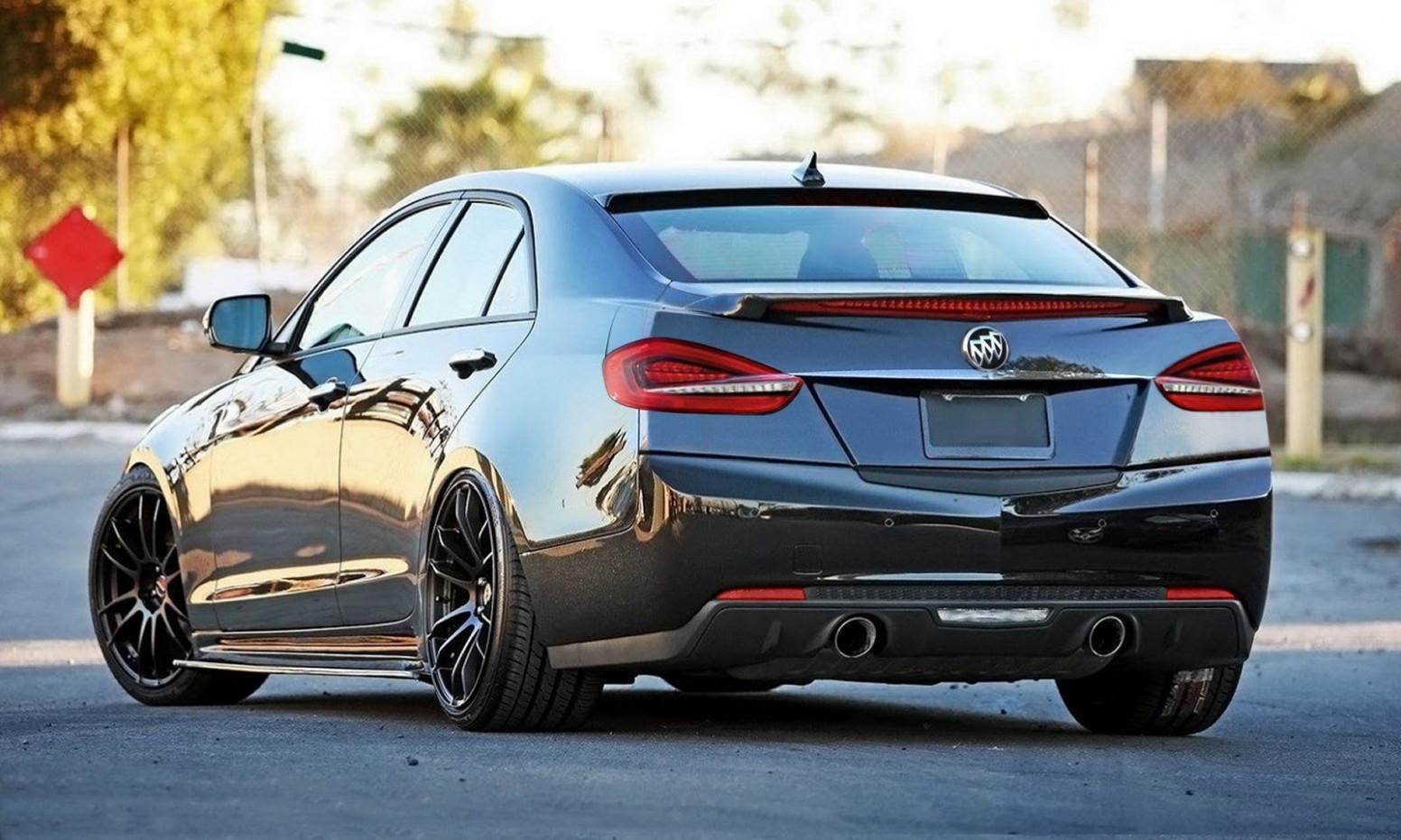 Interior Buick Regal Grand National 2022