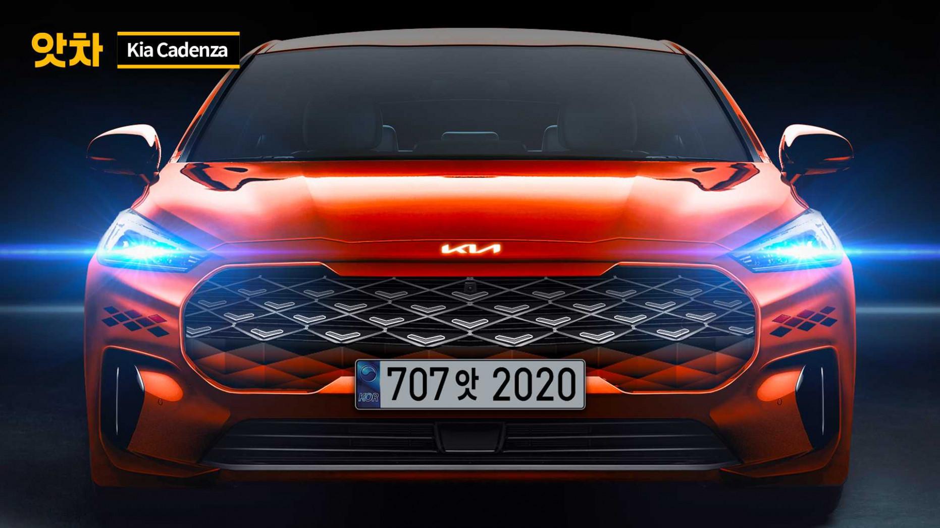 Research New Kia Cadenza 2022