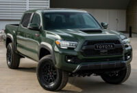 Pricing 2022 Toyota Tacoma