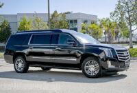 Concept and Review Cadillac Escalade Esv 2022