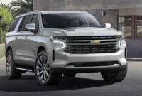 redesign and concept when will the 2022 chevrolet suburban be released