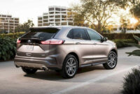 redesign ford edge new design