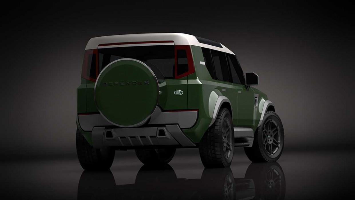 Redesign 2022 Land Rover Defender