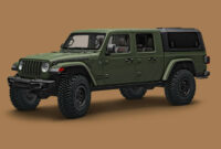 release date and concept 2022 jeep gladiator overall length
