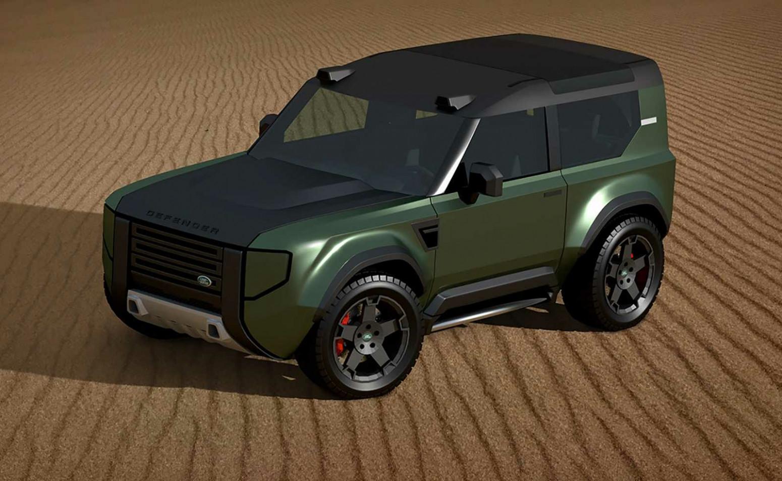 Spy Shoot 2022 Land Rover Defender