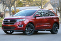 release date ford edge new design