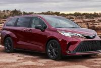 research new toyota minivan 2022