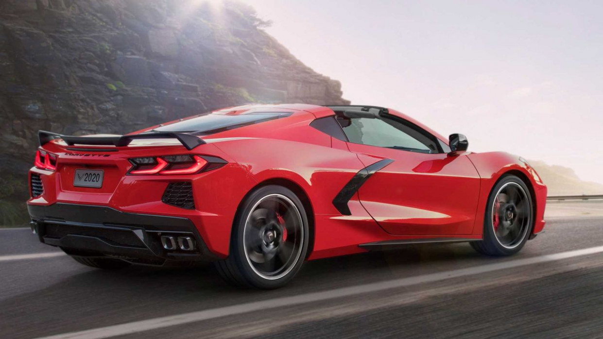 Speed Test 2022 Chevrolet Corvette Mid Engine C8