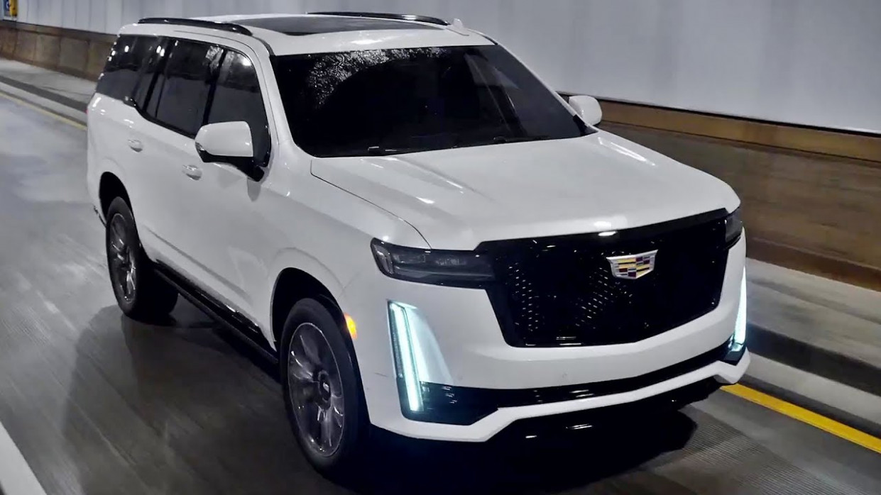 New Review Pictures Of The 2022 Cadillac Escalade