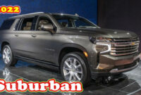 speed test when will the 2022 chevrolet suburban be released