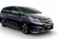 Price and Review Honda Odyssey 2022 Japan