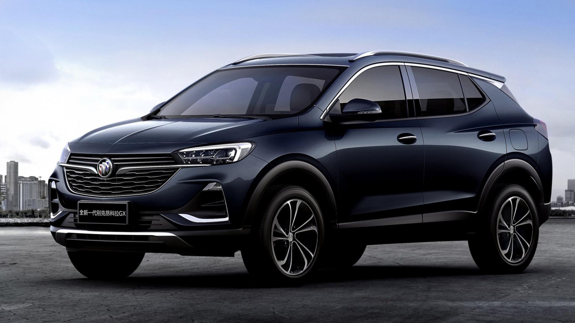 Rumors 2022 Buick Encore Shanghai