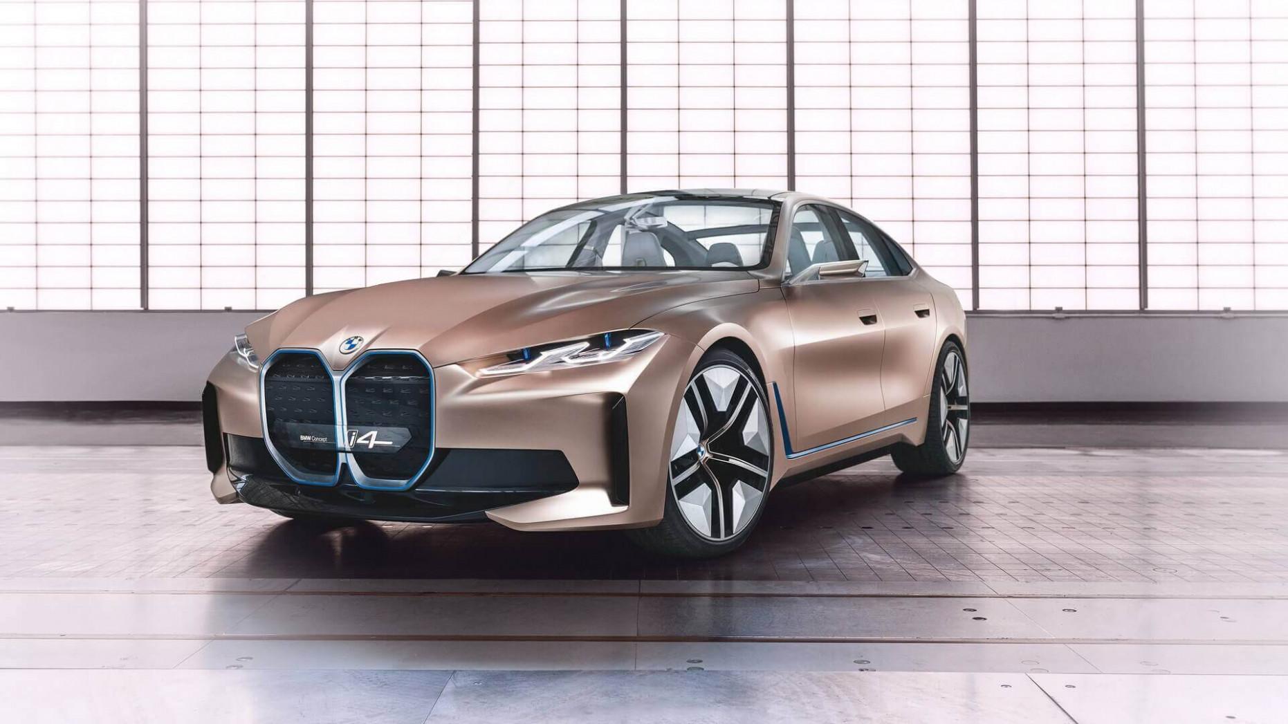 Concept BMW I4 2022